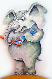 Zahnfant Zähneputzen